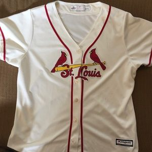 Women's cardinals jersey by majestic size XL